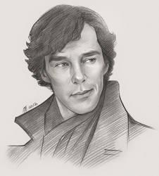 Sherlock#sketch4 by TendaLee