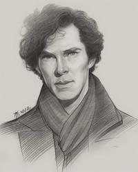 Sherlock Holmes by TendaLee