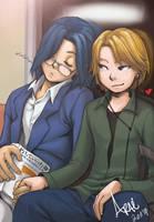 RandomPair_ Juku no Atode by arai-chuusei