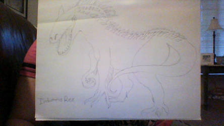 The Indominus Rex from the movie Jurassic World by waterfreak121