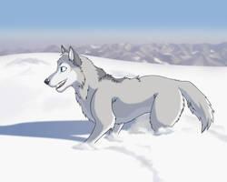 Yoruyonaka My Wolf by Aerowan