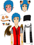 .:Ref:. Devin Mack by xCrypticDreams