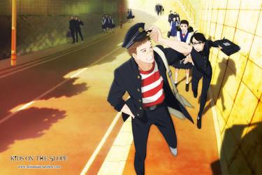 [Anime Wallpaper] Sakamichi no Apollon by Michze90s
