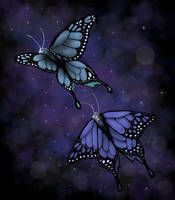 Butterflies by icypenguinz