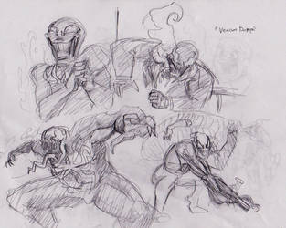 Venom Scribble Dump by claw7705