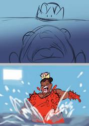 Big Bertha is Back! by claw7705