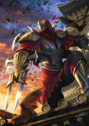 Zed League of Legends by yinyuming