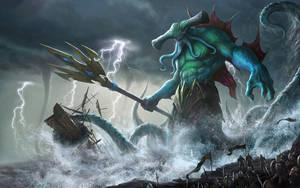 Heroes of Newerth-Myrmidon by yinyuming