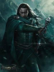 Valhalla Lost_Hodur by yinyuming