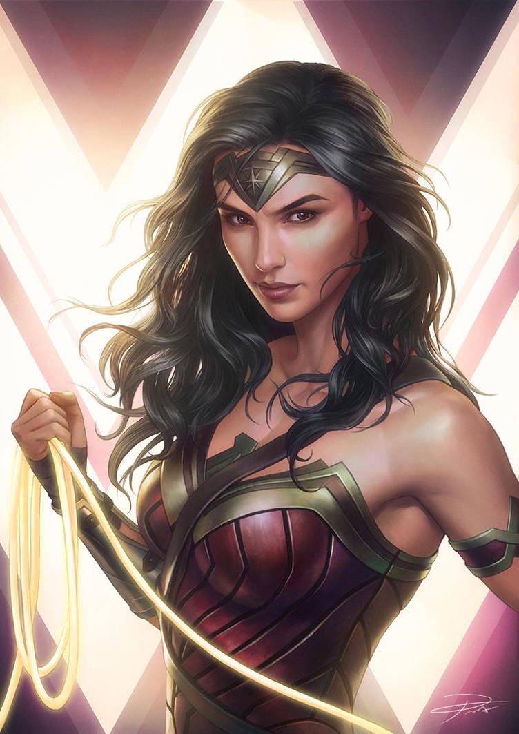 Wonder Women by yinyuming