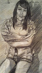 Straitjacket Girl by JohnDrake006