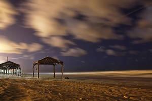 Sea at Night 2 by dorwein
