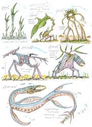 Biosphere Gamma - Kwiares by MickMcDee