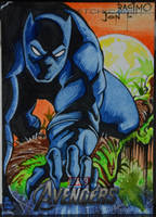 Black Panther by joraz007