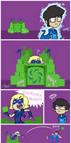 Homestuck - Fort Roxy by colourmefred