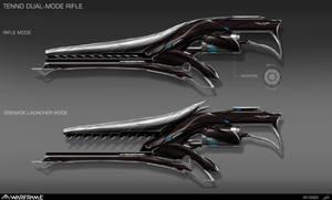 Warframe Weapon Design by nobody00000000