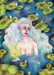 Water fairy by Harumirun