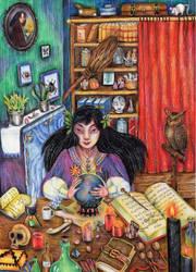 Witch by Harumirun