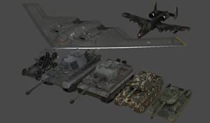 Various Military Vehicles by redbaron7