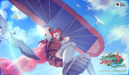 Daisuki Japan Festival - Paragliding by RaitVisualWorks