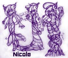 Nicole the Holo-Lynx by Kuyangkuyang