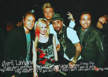 Avril and Backstreet Boys by ArNoBoOo
