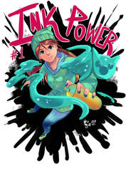 Ink Power Cover by angelmoon19