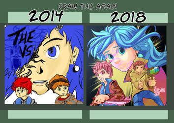 Draw this again 2018 by angelmoon19