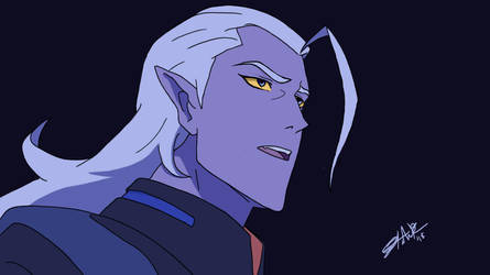 Voltron: Lotor Screenshot Redraw by starstrike1