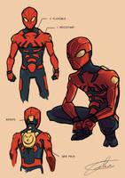 PR: Spider-man Redesign by JohntheMurray