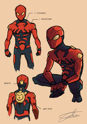 PR: Spider-man Redesign by JohntheMurray