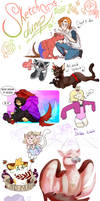 Sketch Dump 4 by Skitea