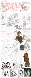 Sketch dump by Skitea
