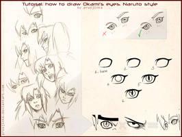 How to draw Okami's eyes by pruzjinka