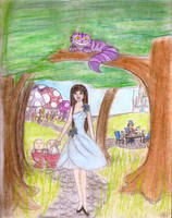 In Alice's Footsteps -Colour- by Forever-Sam