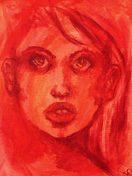 Portrait in Red by Forever-Sam