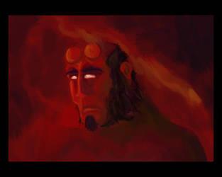 Hellboy by goeyoshi