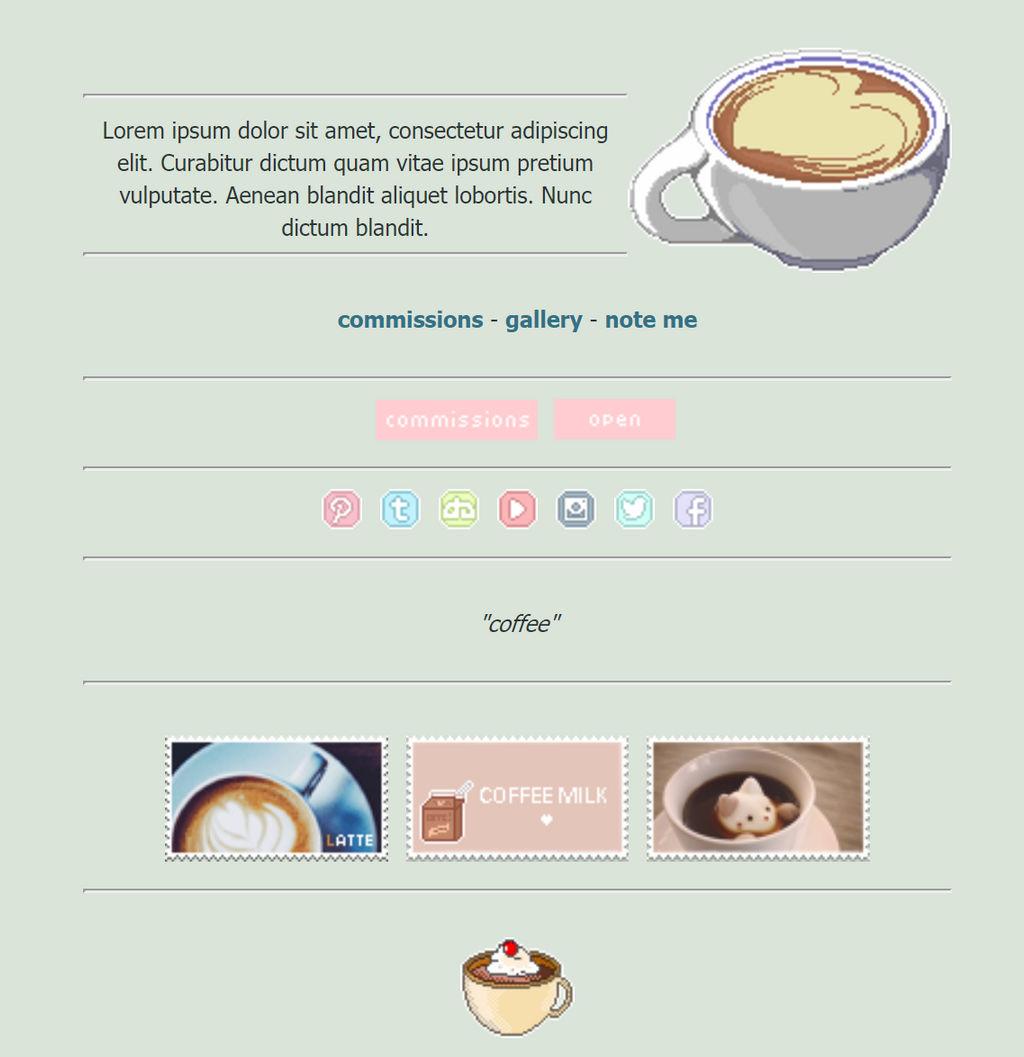 Coffee Custom Box by asayyu