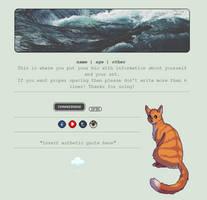 Non-Core Custom Box - Stormy Seas + Cats by asayyu