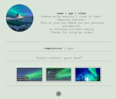 Non-Core Custom Box - Northern Lights by asayyu