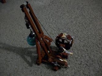 Treadwheel Crane by katze316