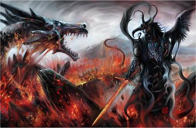King of Darkness by krishnablacksky