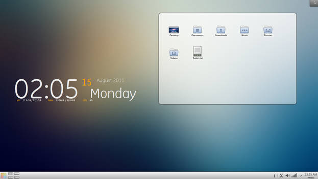 Clean KDE - willeo by cocooh