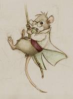 Harris color sketch by battie42