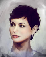 Morena Baccarin by MaksimVolkov