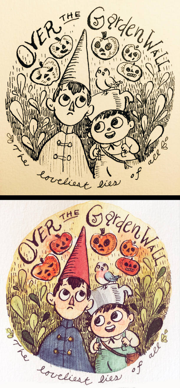 Over The Garden by aberry89