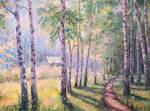 Birch forest by Datline