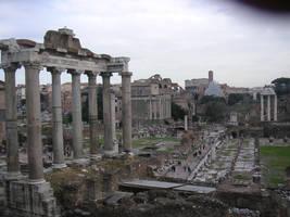 Forum Romanum by Itonia