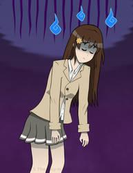 [OC] Higashi Aya - Depressed by The-Sky-Is-Up