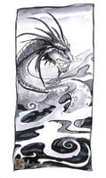 Smokey Dragon by drakhenliche